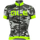 Alé Cycling Graphics PRR Camo SS Jersey Men black-fluo green